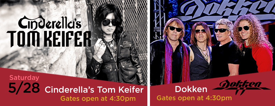 Cinderella's Tom Keifer & Dokken