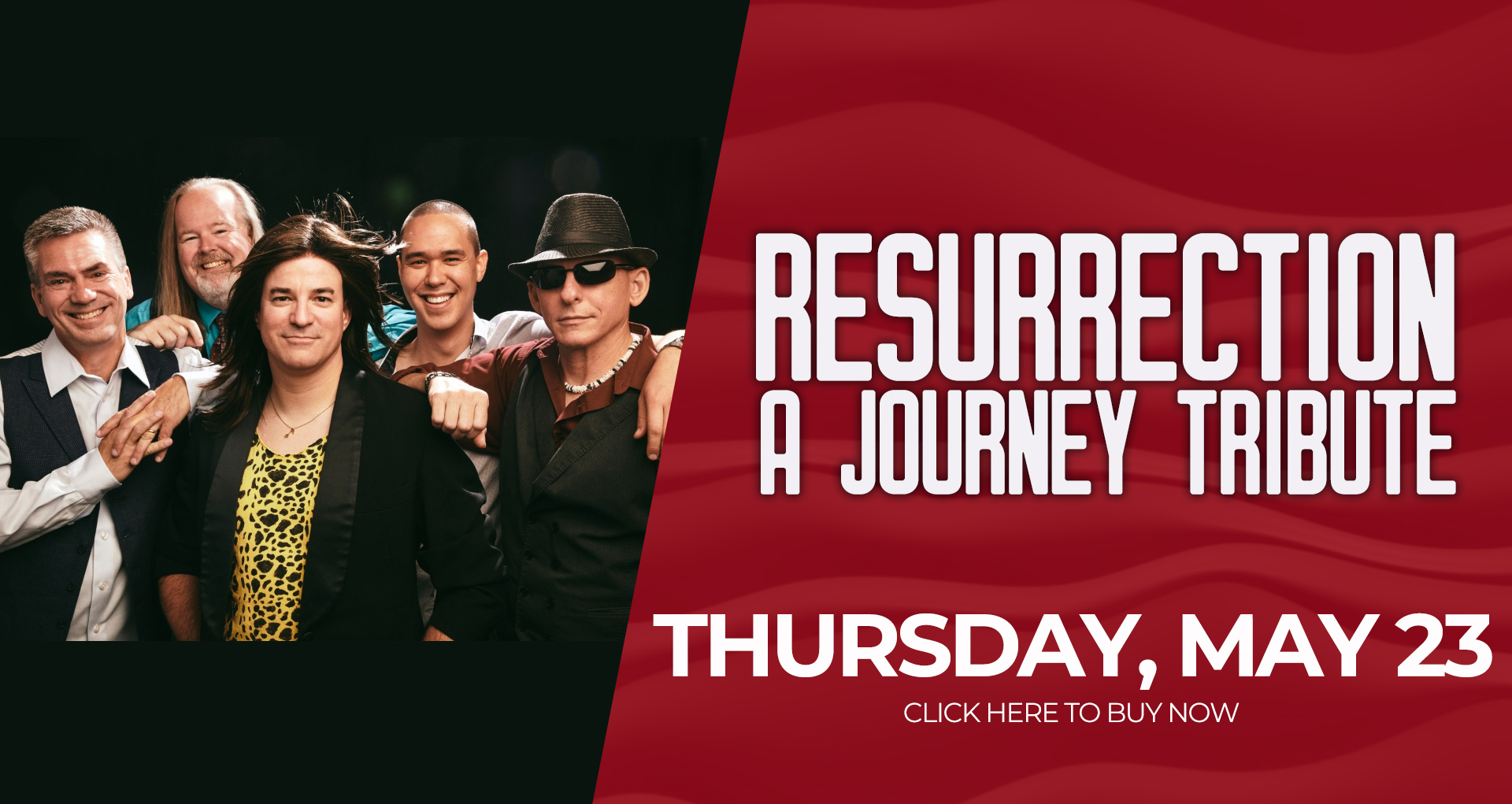 Resurrection - A Journey Tribute Band - Thursday May 23